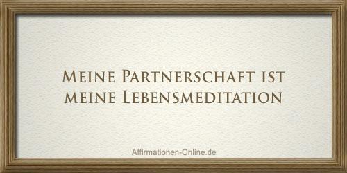 affirmation partnerschaft lebensmeditation